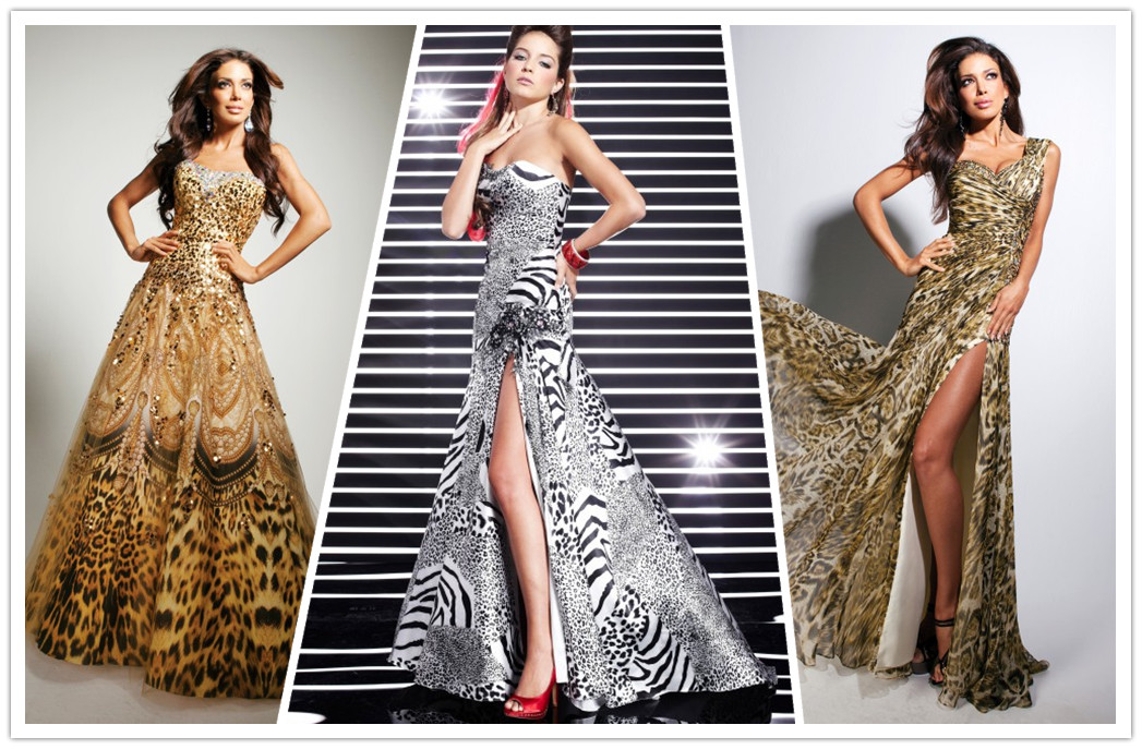 Unique Formal Zebra Prom Dresses A Sunny Afternoon