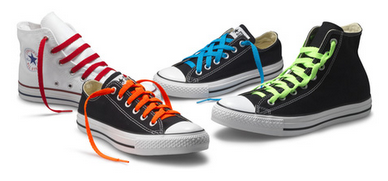 d6eef2bd2ba3 These classic shoes are perfect for experimenting with different ways of  tying shoelaces. This article will present 4 cool ways of tying Converse  shoelaces.