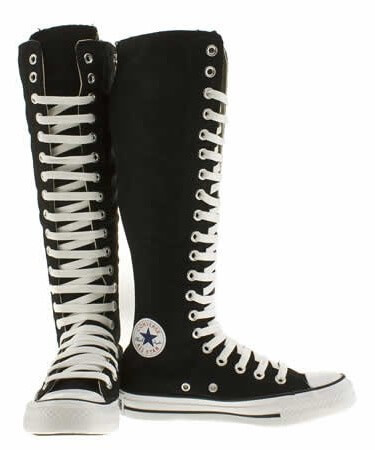 An Overview Of The Knee High Converse Boots | A Sunny Afternoon