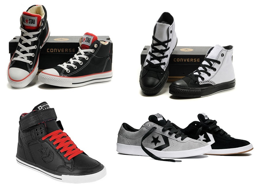 Original Low and High Tops Black Skate Converse